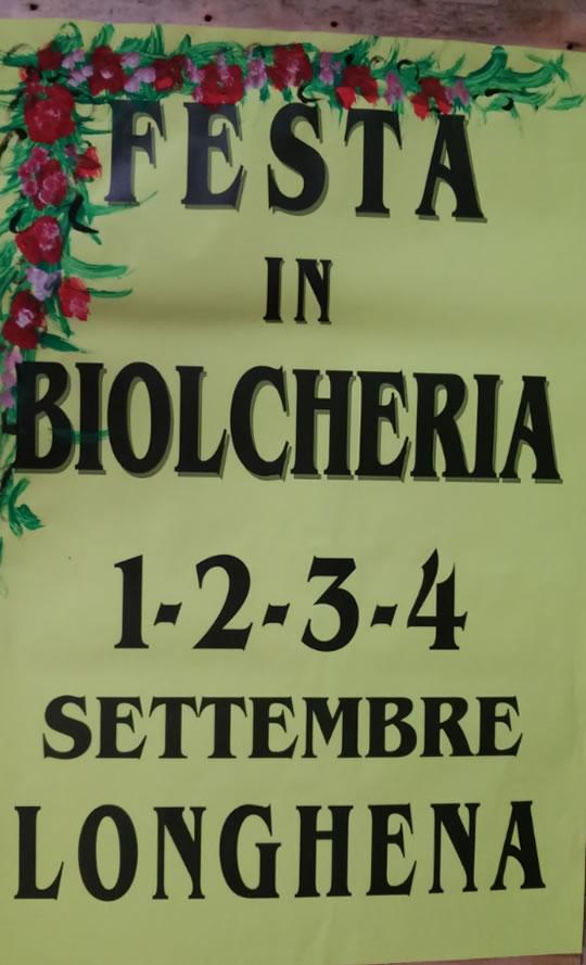 Festa in Biolcheria a Longhena