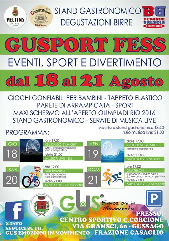 Gusport Fess a Gussago