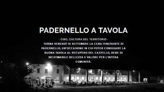 Padernello a Tavola 2016