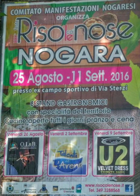 30 Festa del Riso Co le Nose a Nogara VR
