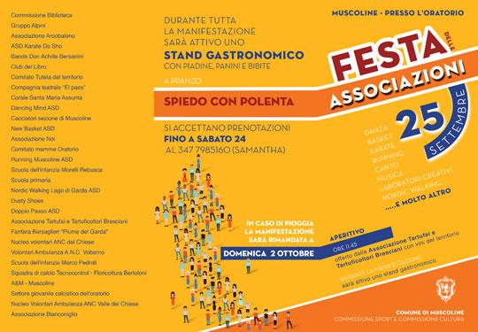 Festa Associazioni a Muscoline