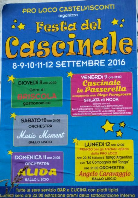 Festa del Cascinale a CastelcovatiFesta del Cascinale a Castelcovati