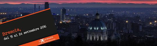 Le X Giornate a Brescia
