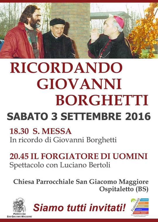 Ricordando Giovanni Borghetti a Ospitaletto