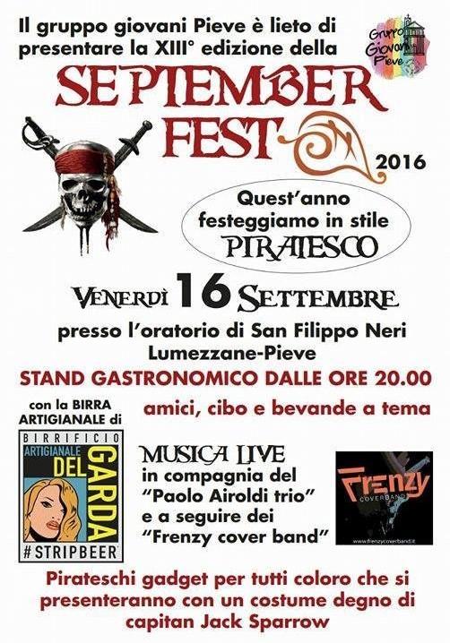 September Fest a Lumezzane Pieve
