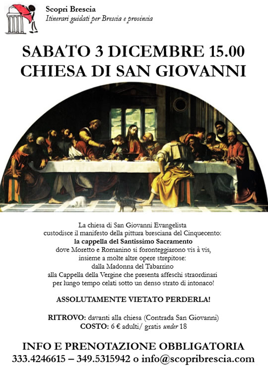 Chiesa di San Giovanni con Scopri Brescia