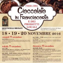 Cioccolato in Franciacorta a Monticelli Brusati