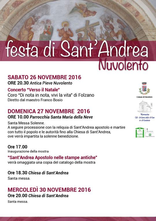 Festa di Sant'Andrea a Nuvolento