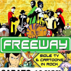 Freeway cover cartoon a Castegnato