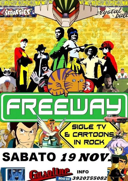 Freeway cover cartoon a Castegnato
