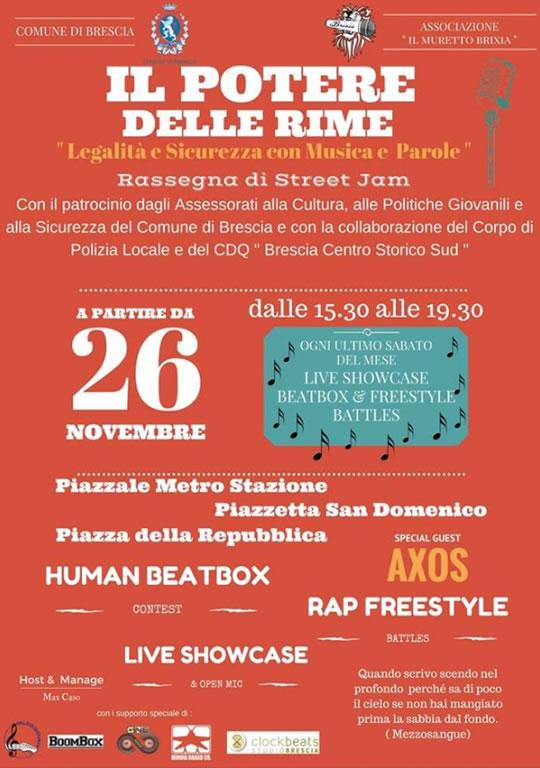 Il Potere delle Rime a Brescia