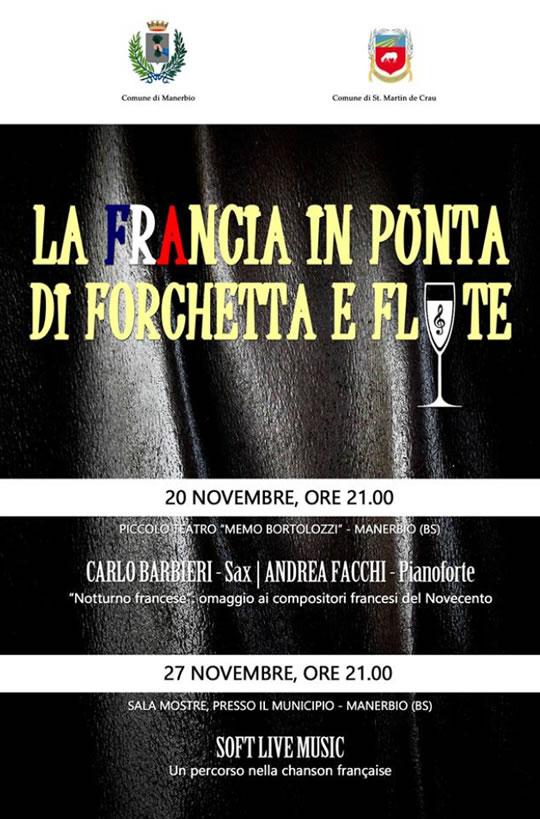 La Francia in Punta di Forchetta e Flute a Manerbio