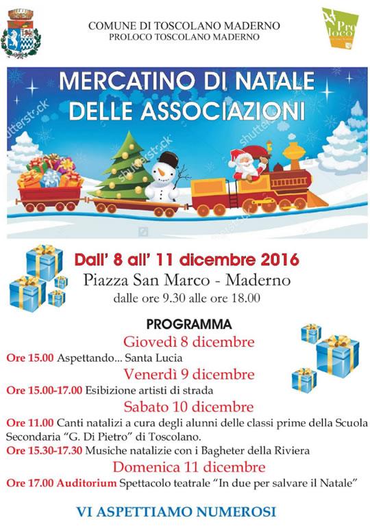 Mercatini di Natale delle Associazioni a Toscolano Maderno