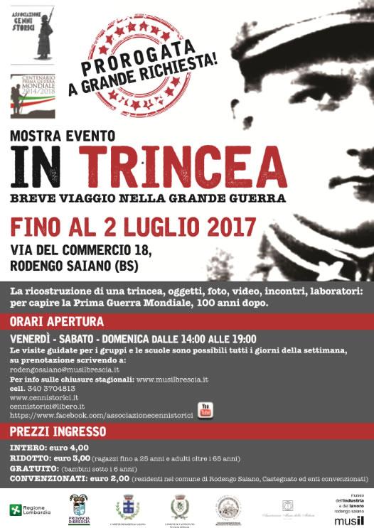 Mostra Evento In Trincea a Rodengo Saiano