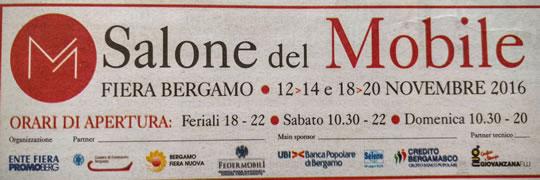 Salone del Mobile a Bergamo