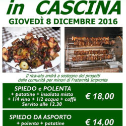 Spiedo in Cascina Cattafame a Ospitaletto