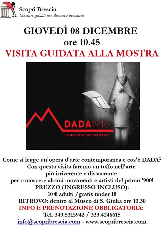 Visita Guidata alla Mostra Dada 1916