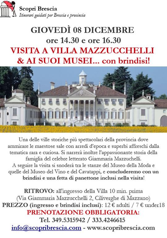 Visita a Villa Mazzucchelli e ai Suoi Musei