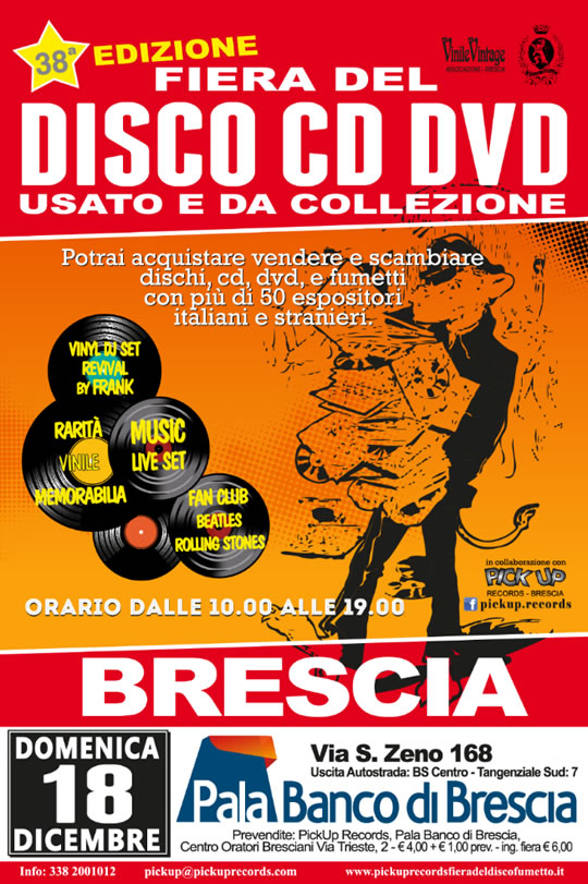 38a Fiera del disco, cd e dvd a Brescia
