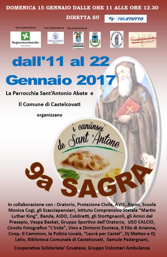 9 Sagra I Canusei de Sant'Antone a Castelcovati