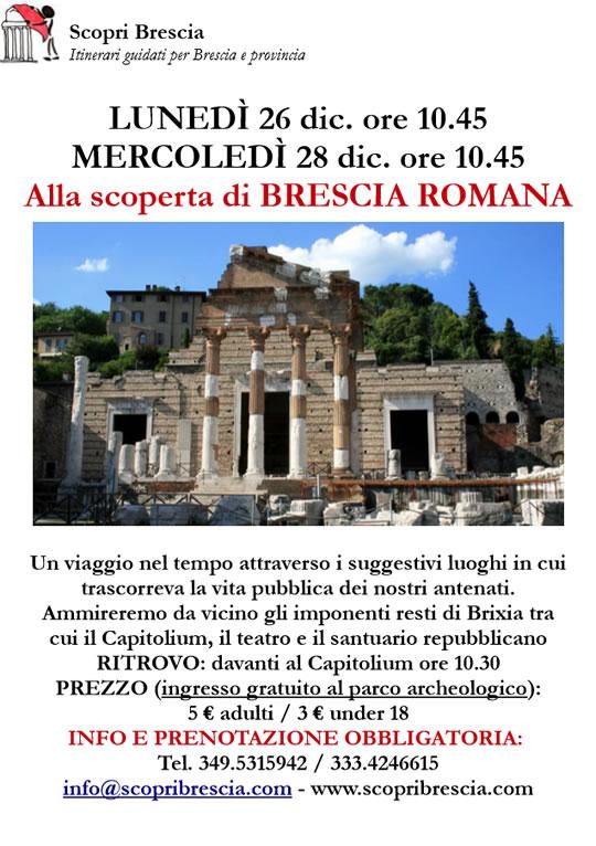 Alla Scoperta di Brescia Romana