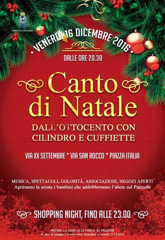 Canto di Natale a Manerbio