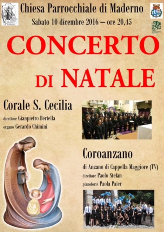 Concerto di Natale a Maderno