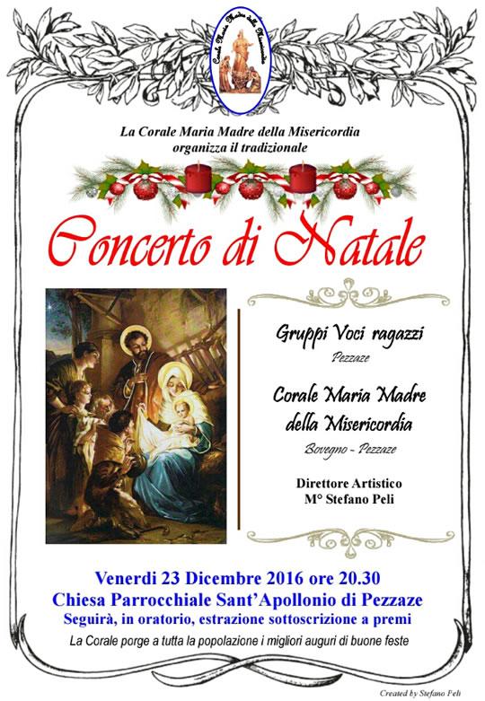Concerto di Natale a Pezzaze