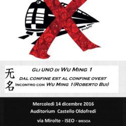 Gli UNO di Wu Ming 1 a Iseo