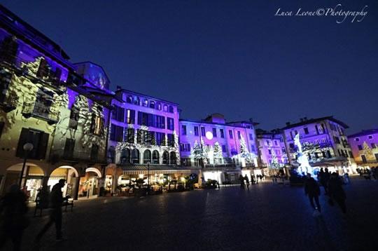Illuminazione artistico-scenografica del borgo di Lovere