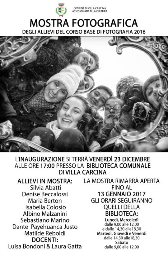 Mostra Fotografica a Villa Carcina
