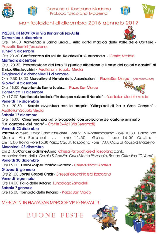 Natale a Toscolano Maderno
