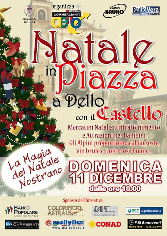 Natale in Piazza a Dello