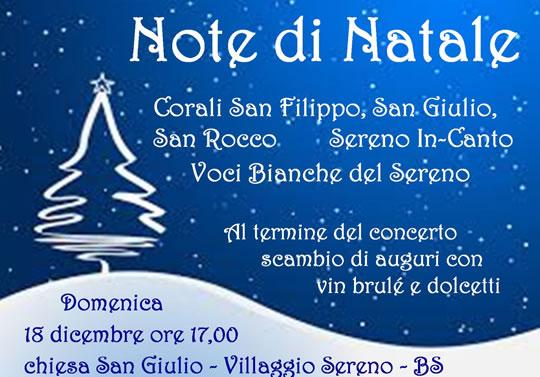 Natale in Musica a Brescia - Villaggio Sereno