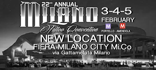 22 Tattoo Convention a Milano