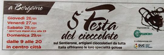 5 Festa del Cioccolato a Bergamo