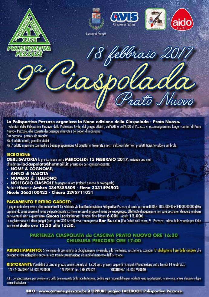 9 Ciaspolada Prato Nuovo