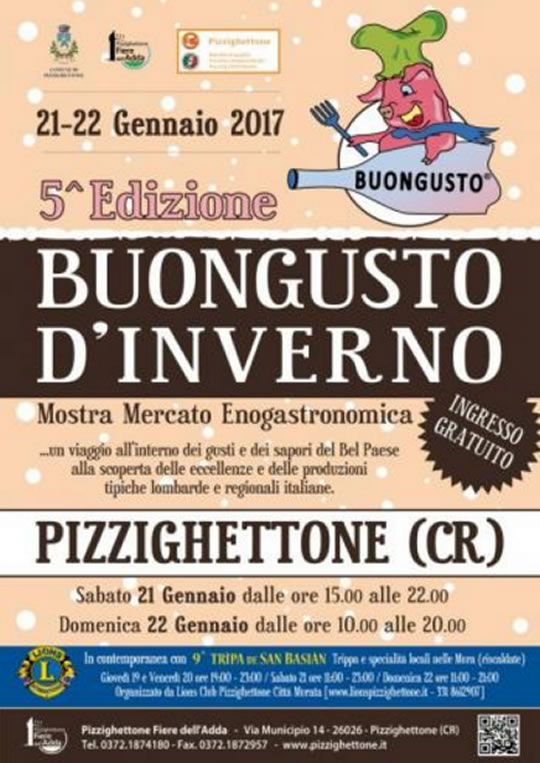 Buongustaio d'Inverno a Pizzighettone CR