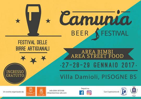 Camunia Beer Festival a Pisogne