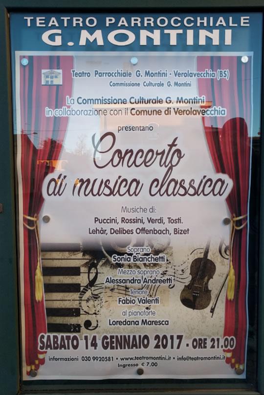 Concerto di Musica Classica a Verolavecchia