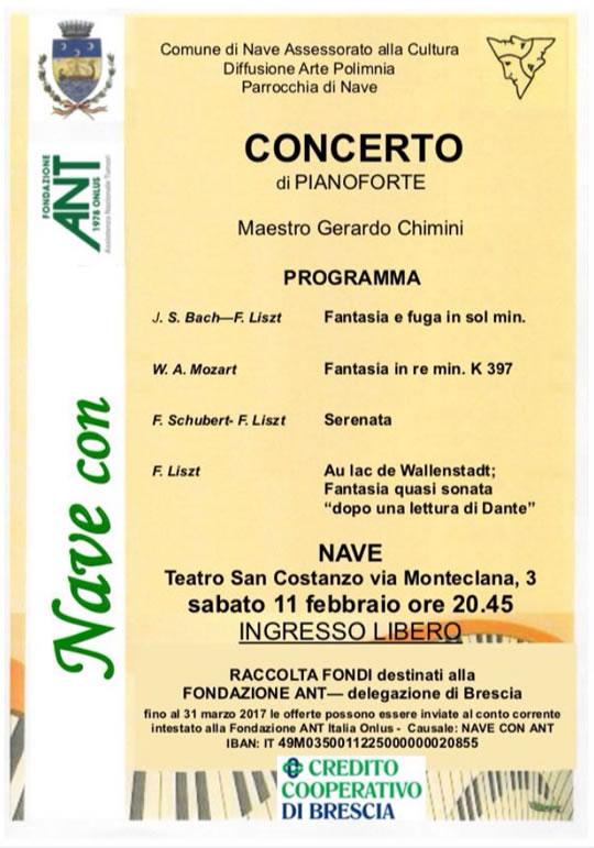 Concerto di Pianoforte a Nave