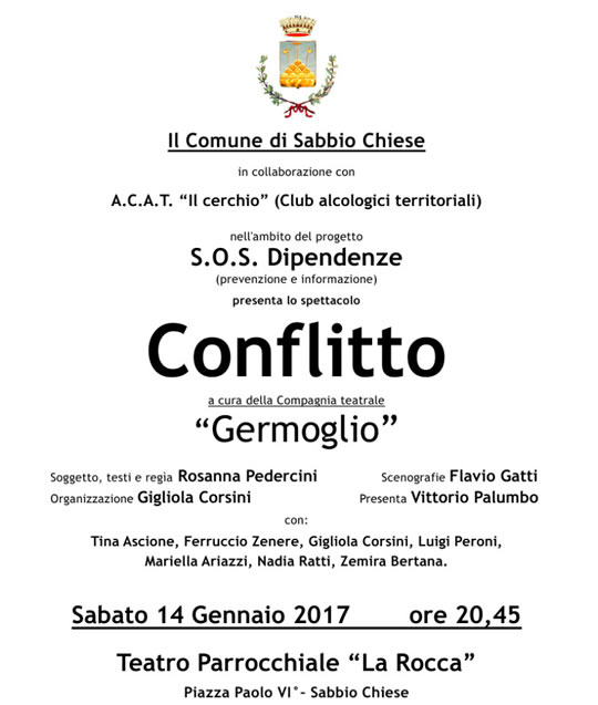 Conflitto a Sabbio Chiese