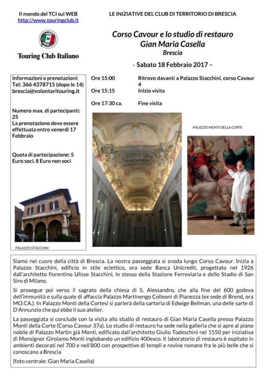 Corso Cavour e lo Studio di Gian Maria Casella