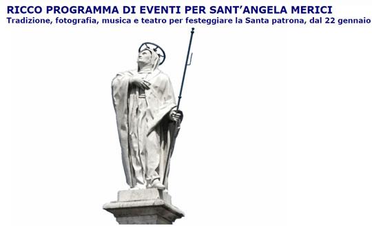 Festa Sant'Angela Merici a Desenzano