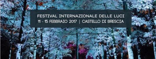 Festival Intenazionale delle Luci al Castello di Brescia