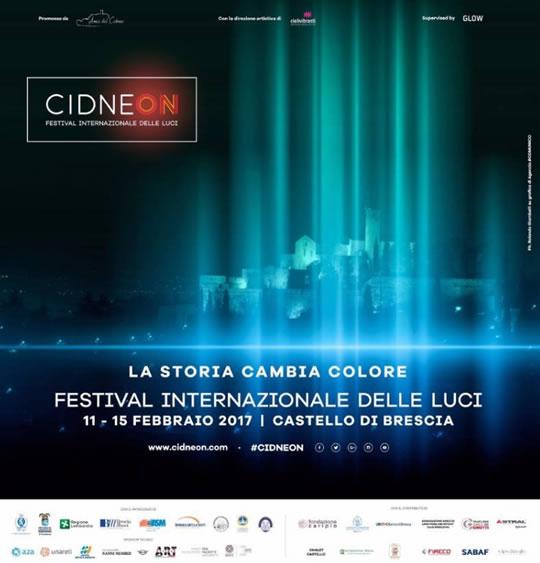Festival Internazionale delle Luci a Brescia