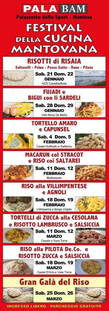 Festival della Cucina Mantovana a Mantova