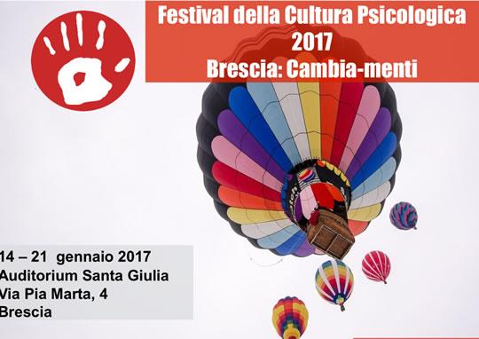 Festival della Cultura Psicologica a Brescia