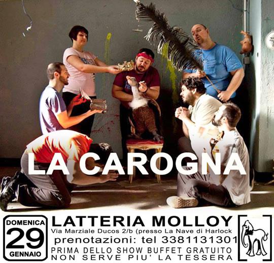 La Carogna a Brescia