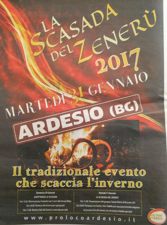 La Scasada del Zeneru a Ardesio